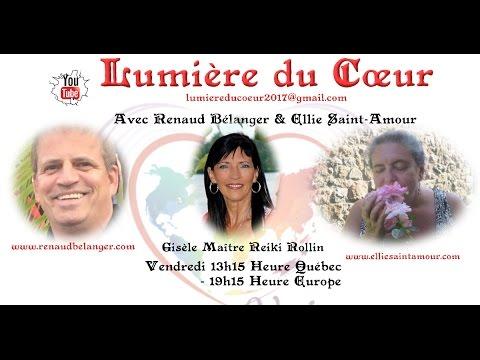 Lumière du Coeur avec Renaud Bélanger & Ellie Saint-Amour vendredi 7 avril 2017 13h15 Québec