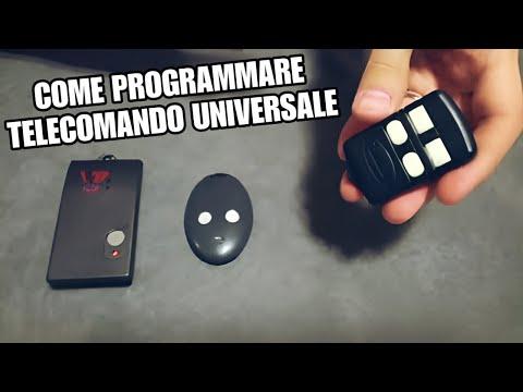 Telecomando universale per cancelli come programmarlo for Spranga universale per porte