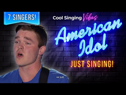 Auditions Day 1: Nashville - 7 Singers: No Judging! - American Idol XIV 2015 - Season 14