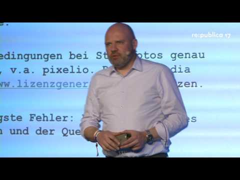 re:publica 2017 - Saisonrückblick Social Media Recht on YouTube