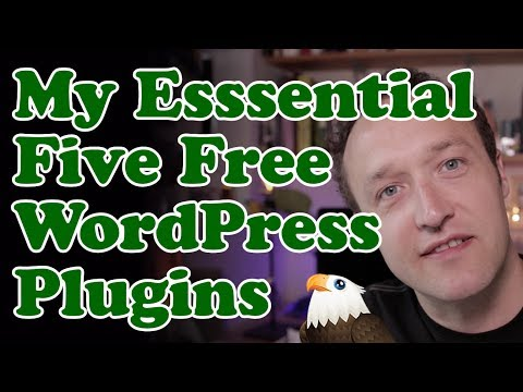 My 5 Must Have FREE WordPress Plugins 2017