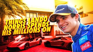 10 Things Lando Norris Spends His MILLIONS On!