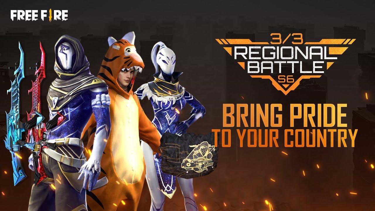 Regional Battle Season 6 | Garena Free Fire