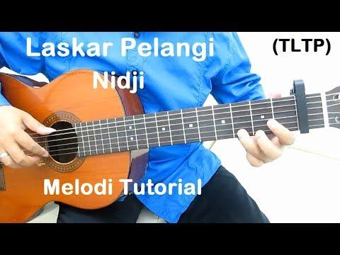 Belajar Gitar Laskar Pelangi (Melodi TLTP)