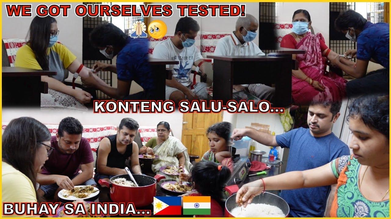 BUHAY SA INDIA: NAKAKAKABA! WE GOT OURSELVES TESTED! KONTENG SALU-SALO PAMPAALIS NERBYOS! 😅