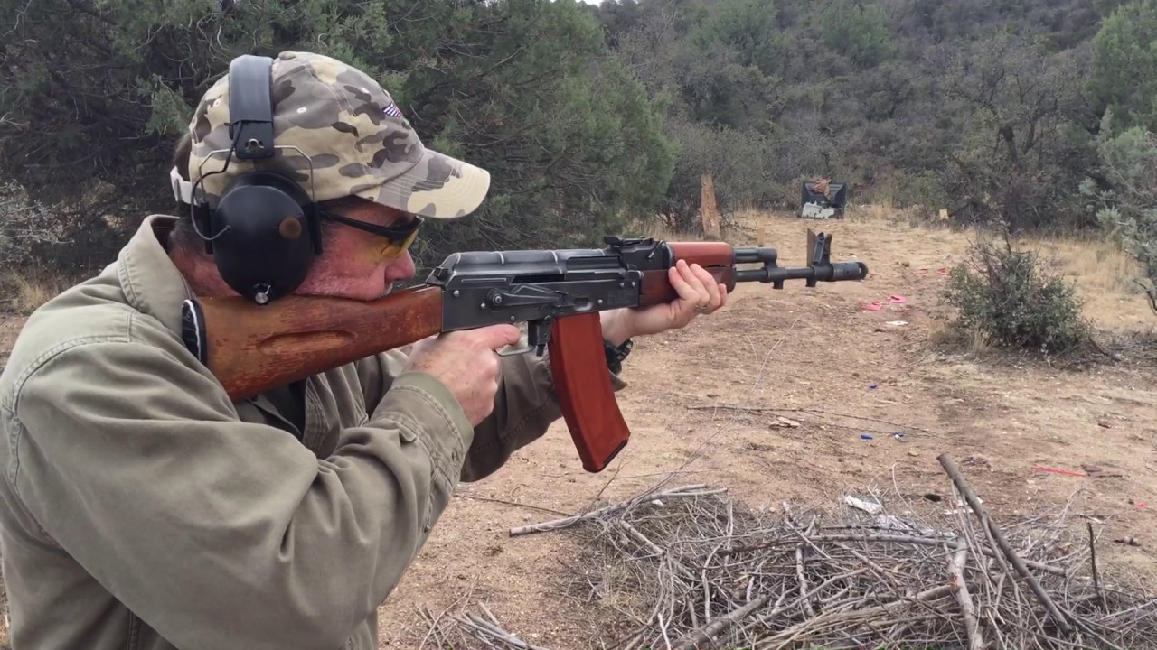 AK-74 Rifle in 5 45x39mm - 40 Rounds Included