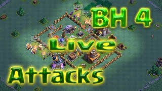 Clash of Clans - BH4 Live Attacks (BD Giants Bombers Archers)