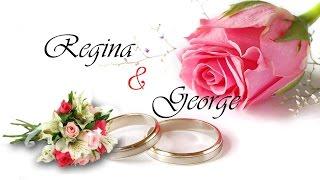 Regina & George WEDDING @ RCCG Dubai 2016