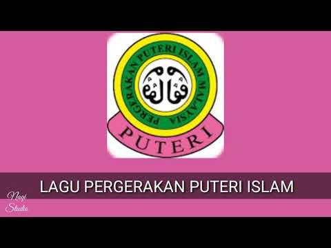 LAGU PERGERAKAN PUTERI ISLAM (Lirik)