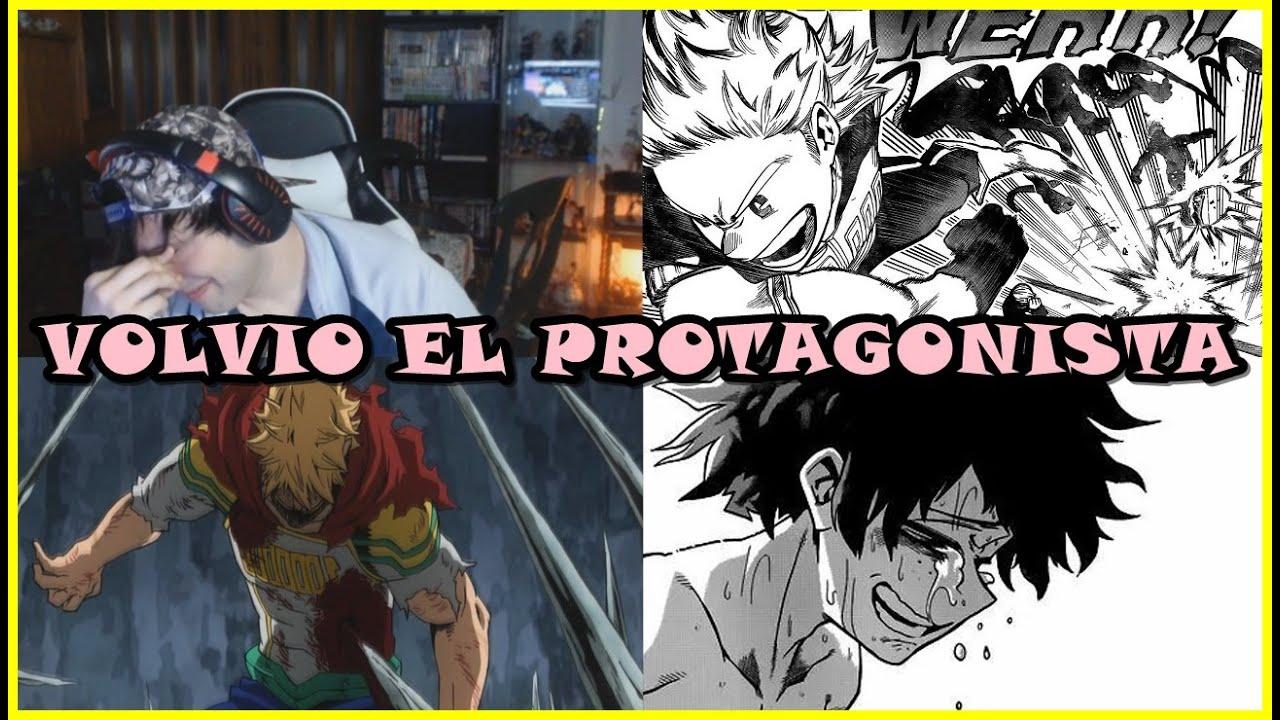 LLORE CON MY HERO ACADEMIA, VOLVIO EL PROTA