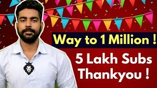 My Youtube Story | 5 Lakh Subscriber Special | Praveen Dilliwala