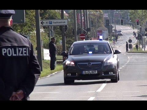 BKA + LKA + Polizei + VIP Eskorte