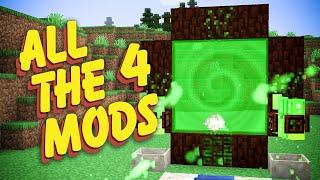All The Mods 4 Modpack Ep. 16 Alfheim Portal