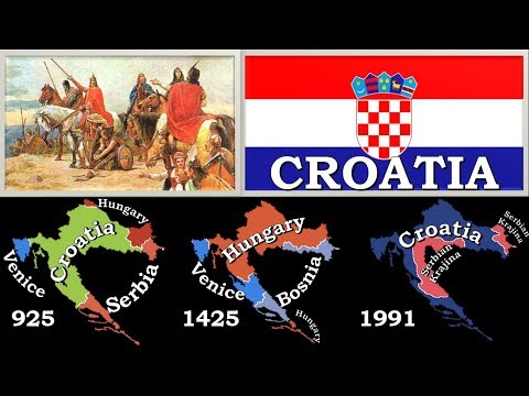 Who Owned Croatia? (165 BC - 2017)