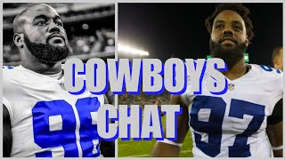 COWBOYS CHAT: Maliek Collins Injured; Terrell McClain Visits; Irving Update; Rookie Mini-Camp & More