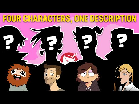 4 Artists Design Characters from the Same Description