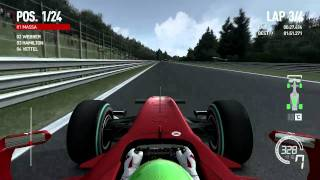 Formula 1 2010 - PC HD 5870 Gameplay