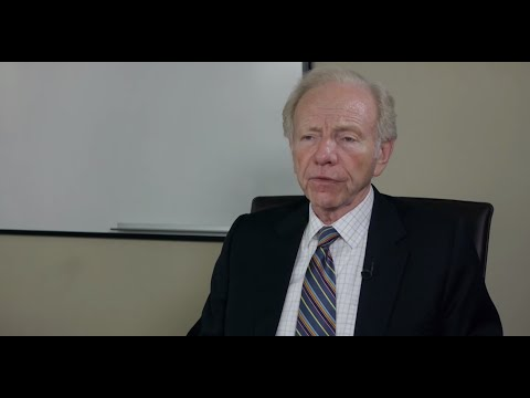 A Conversation with former U.S. Senator Joe Lieberman