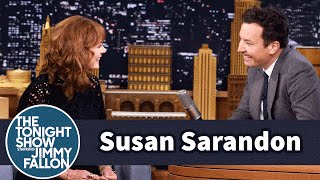 The Meddler Sends Susan Sarandon and Jimmy into a Laughing Fit