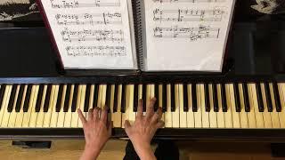 「この広い野原いっぱい」(作曲:森山良子)をピアノでなるべくやさし...