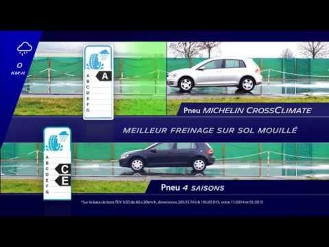 Meilleur Pneu 4 Saisons >> Comparatif Pneu Michelin Crossclimate Vs Pneu 4 Saisons Youtube