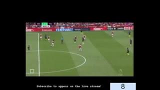 Arsenal v Man City, 2018/19   Premier League