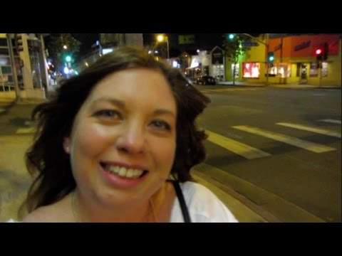 Exploring Mulholland Drive & the Hollywood Walk of Fame | Travel Vlog | CarolineTowers