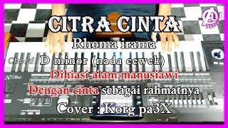 Download Mp3 Citra Cinta - Rhoma Irama - Karaoke Dangdut Korg Pa3x  Nada Cewek