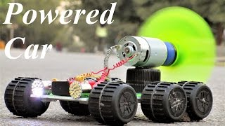 How To Make a Car - Powered Car - very simple car