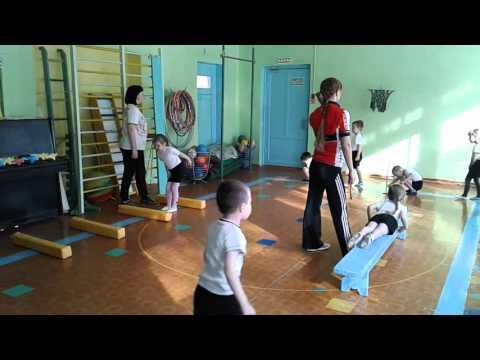 НОД по физическому развитию Школа юного пилота в средней группе