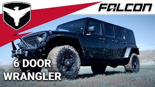 Falcon Shocks: 6 Door Wrangler