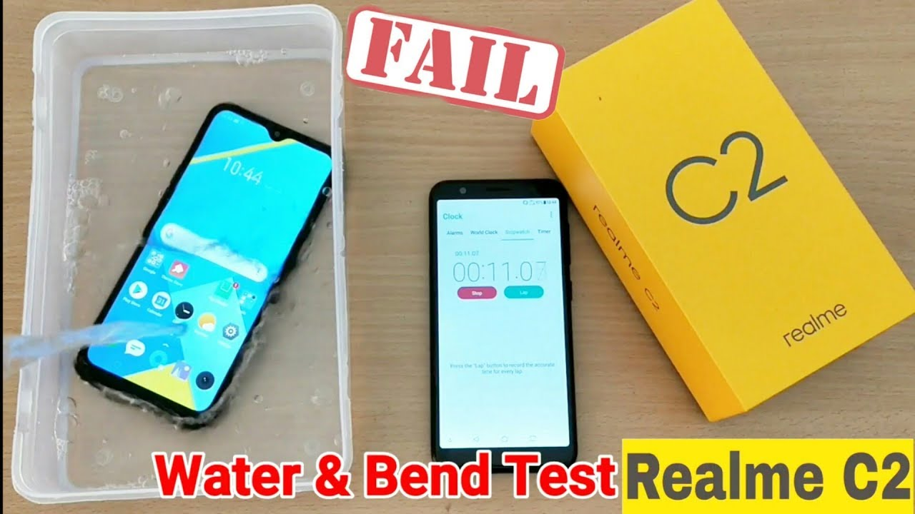 Realme C2 Water Test (10 Minutes) | Bend Test Realme C2 | Realme C2 Water Test Failed | Result