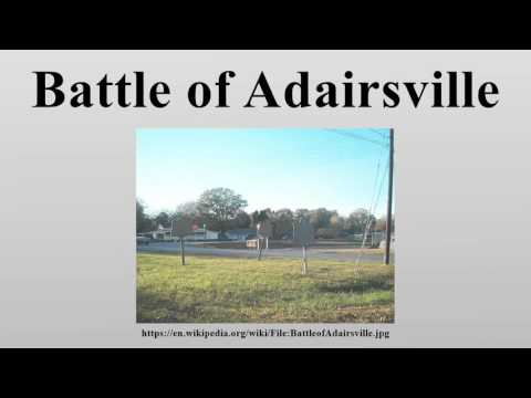 Battle of Adairsville