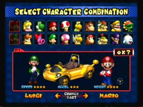 Mario Kart: Double Dash!! - Hidden Secrets And Unlockables