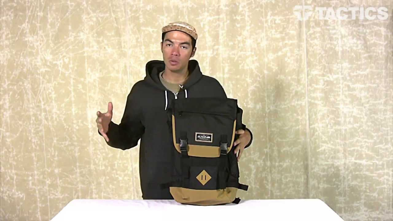 DAKINE Vault Backpack Review - Tactics.com - YouTube