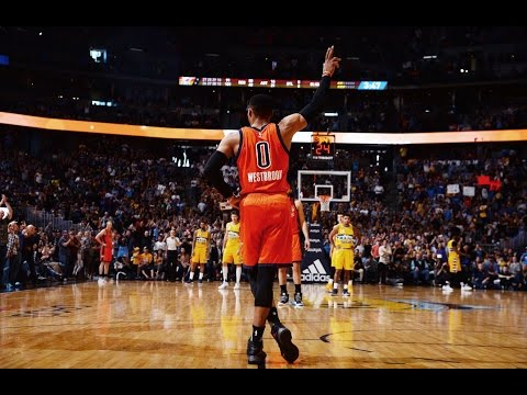 Russell Westbrook Assist Sets NBA RECORD 42ND TRIPLE DOUBLE In A Single Season! | April 9, 2017