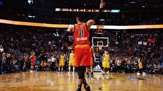 Russell Westbrook Assist Sets NBA RECORD 42ND TRIPLE DOUBLE In A Single Season!   April 9, 2017