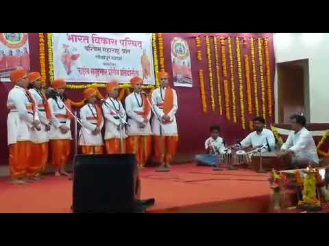 Apana Hindustan award winning patriotic song sung by Podar Intl Satara students at Solapur!