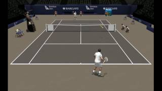 Ferrer vs Janowicz | Finale Masters 1000 Paris 2012 | Full Ace Tennis Simulator 2012