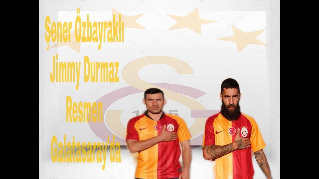 Galatasaray Resmen açıkladı Galatasaray transfer haberleri Jimmy Durmaz Şener Özbayraklı 2.Temmuz