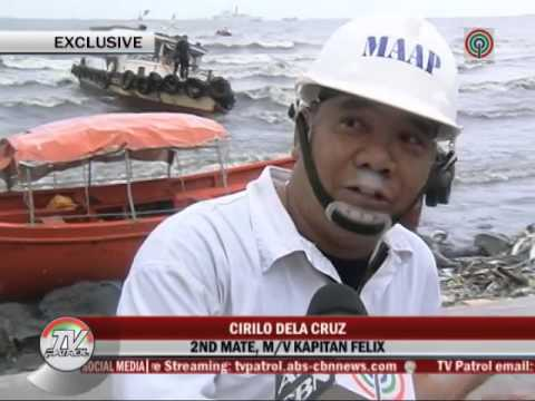 Rescue boat runs aground off Manila Bay amid strong waves