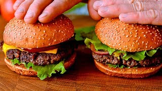 Домашний бургер - Макдональдс отдыхает !