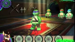 Бесплатные игры онлайн  Игра Черепашки Ниндзя Лего драки игра для мальчиков