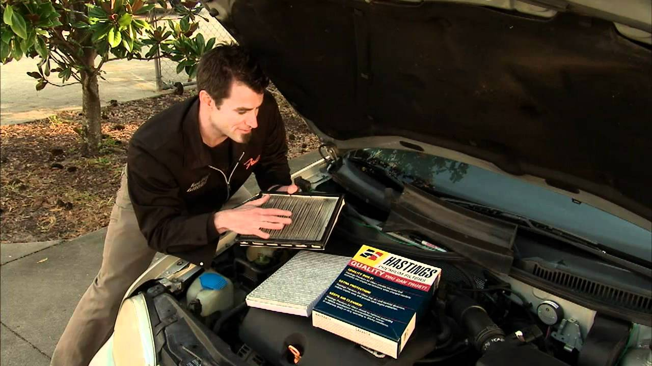 Cabin Air Filter Replacement Youtube