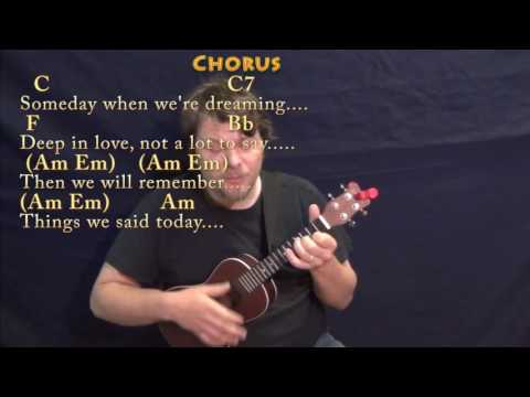 Things We Said Today (The Beatles) Ukulele Cover Lesson with Chords/Lyrics