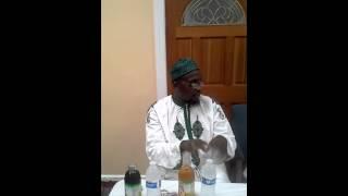 Dr.Muhammad Ibn Usman's visit to Imam Firdaws Lad.
