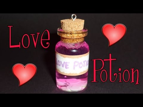 Love Potion Miniature Bottle Charm