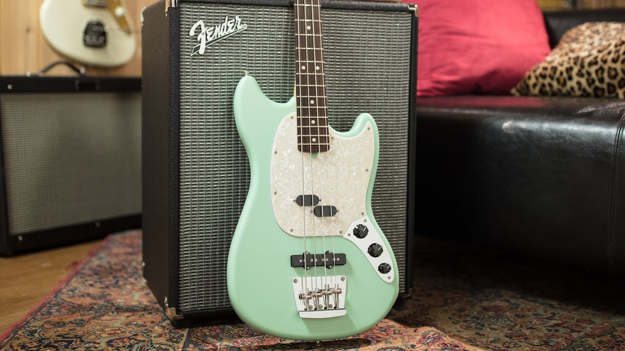 fender american performer series mustang bass | nick campbell demo