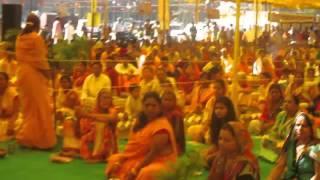 Yagyyopavit Sanskar by Haridwar Toly Dashhara Maidan Indore  06 01 2016