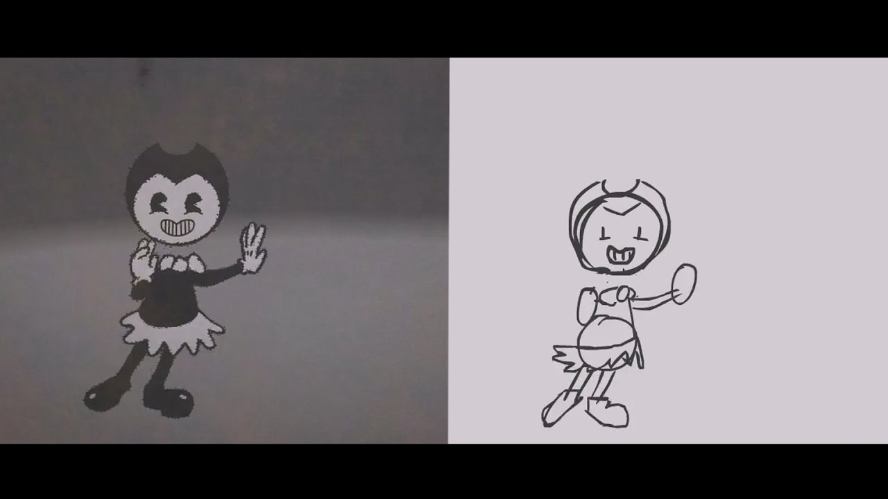 Making Of - BENDY AND THE INK MACHINE ANIMATION | ApriL ArtAnimation